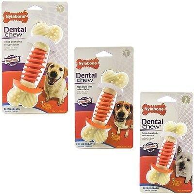 Nylabone Dental PRO Action Chew Bacon Free Shipping (New Nylabone)