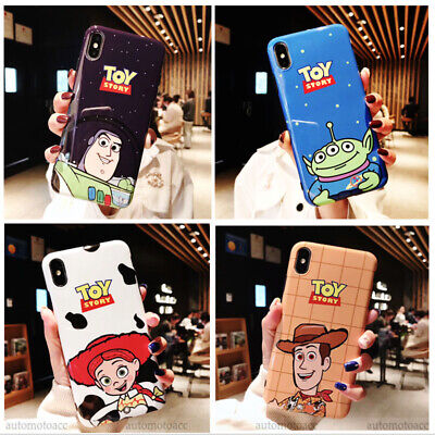 Disney Alien Toy Story IMD Soft Phone Case Cover For iPhone XSMAX XR 6/7/8 Plus