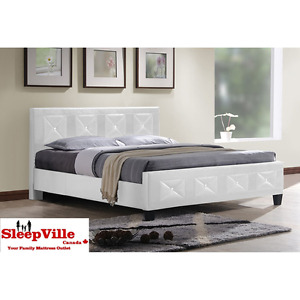 PREMIUM JEWEL QUEEN PLATFORM BED/ FREE SAME DAY DELIVERY