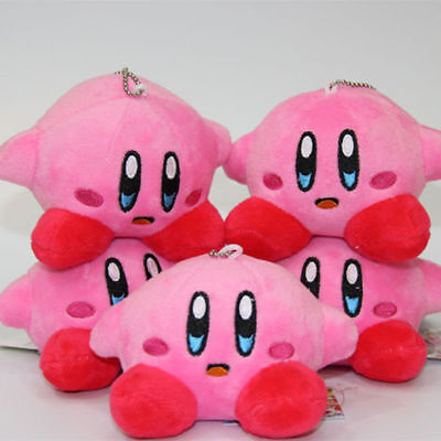 1PC New Nintendo Game Kirby Plush Toy Standing Pose Soft 4in tall