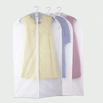 Garment Suit Dress Jacket Clothes Coat Dustproof Cover Protector Travel Bag DX