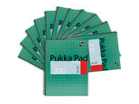 Pukka Pad A4 Wirebound Ruled Jotta Notebook - 100 Sheets Pack of 3