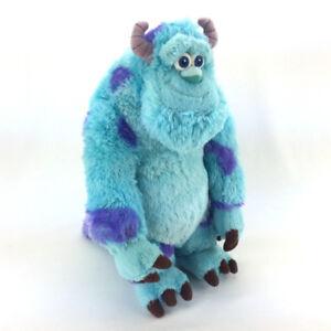"Plush Sulley Monsters Inc Stuffed Animal 14"" Large Pixar Disney"