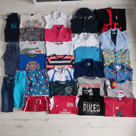 Boys 7-8 years clothes bundle 31 Items