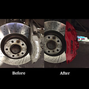 Brake Caliper Refinishing & Repainting! Make your car stand out!