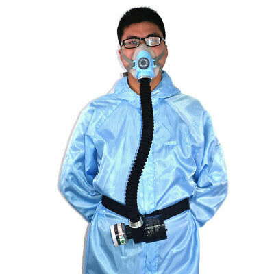 Electric Constant Flow Supplied Air Fed Face Gas Mask Respirator System