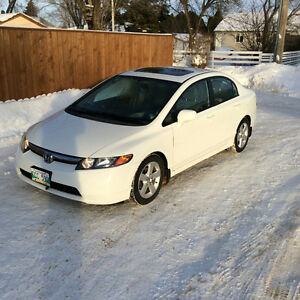 2008 HONDA CIVIC LX-SR / LOW KMS!!!!