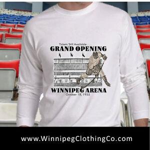 If you watched Hull,Hawerchuk,you'll want Winnipeg Arena t-shirt