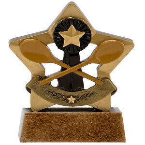 Mini Star Wooden Spoon Last Loser Award Fund Raising School Club Trophy