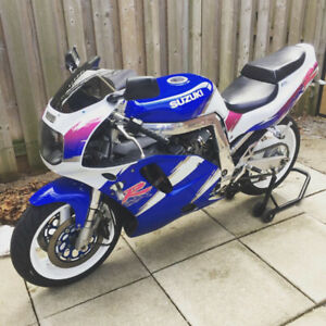 1993 GSXR750 GSX750R with complete spares kit + Engine