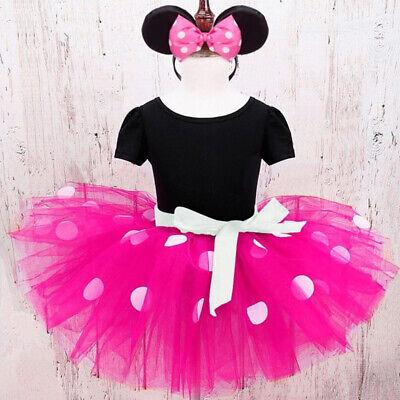 Baby Girls Halloween Costume (Girl Halloween Costume Minnie Dots Kids Baby Tutu Birthday Party Costume)