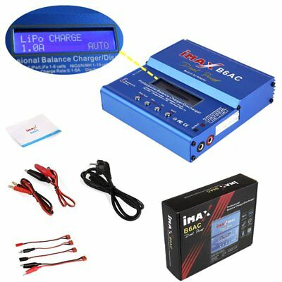 iMAX B6AC RC Lipo NiMH 3S RC Akku Batterie Digitale Balance Charger Ladegerät DE
