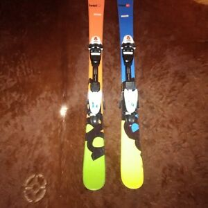 Head skis with Bindings - 125cm Excellent Condition London Ontario image 1
