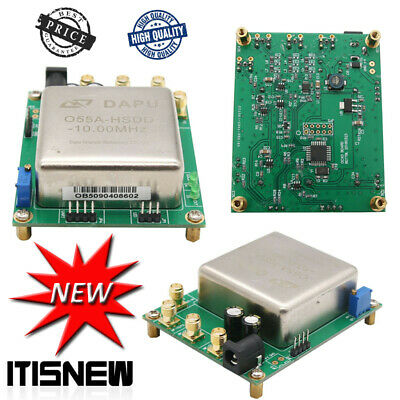 10mhz Ocxo Crystal Oscillator Frequency Reference Board Adjustable 10k-180m 12v