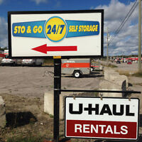 Sto & Go 24/7 Self Storage - U-Haul Dealer & Moving Supplies