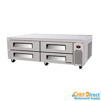 Turbo Air Tcbe-82sdr-n Super Deluxe 84 Four Drawer Chef Base