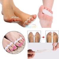 2 X Soft Hallux Dedos Del Martillo Solapados Correct Toe Separators Stretchers -  - ebay.es