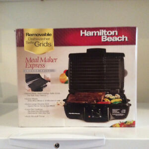 Indoor Grill- Meal Maker Express- new