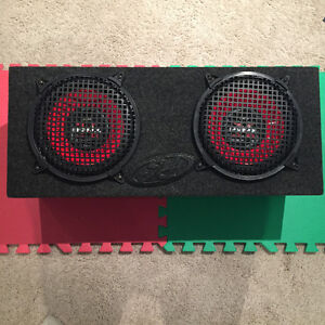 "Dual Subwoofer Box with Two 10"" Sony Xplod Speakers Regina Regina Area image 6"