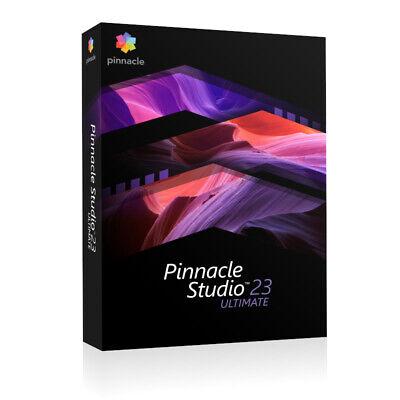 PINNACLE STUDIO 23 (2020) ULTIMATE, BOX