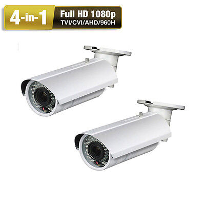 1080P AHD CVI TVI 2.8-12mm Zoom 4-in-1 2.6MP 42IR OSD Menu Security Camera (2)