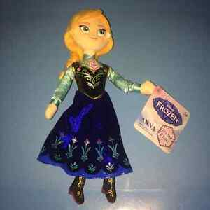 Frozen Anna Talking Plush Doll 10 Inches Tall NEW WITH TAGS!!