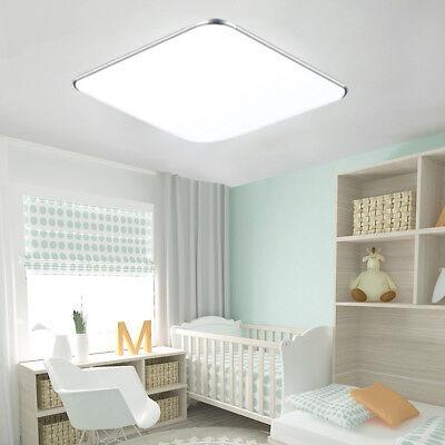 36W LED Deckenleuchte Kaltweiß Deckenlampe Wohnzimmer Ultraslim Panellampe Küche Ultra Slim Panel