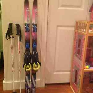 Kids cross country skis, boots and poles SOLD St. John's Newfoundland image 1