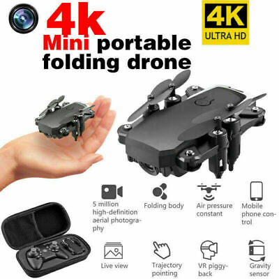 RC Drone Quadcopter with 4K HD Camera Wifi FPV RC Foldable Helicopter Aircraft