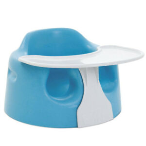 Bumbo Chair (with tray & straps, colour: blue)