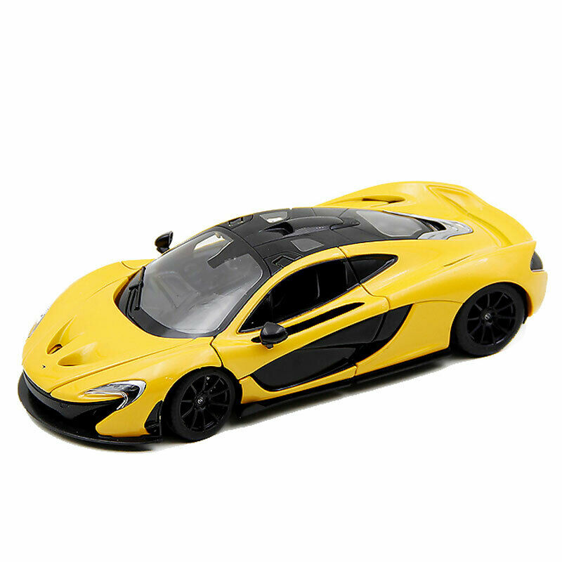 1:24 Scale Mclaren P1 Supercar Model Car Diecast Vehicle Gift Collection Yellow