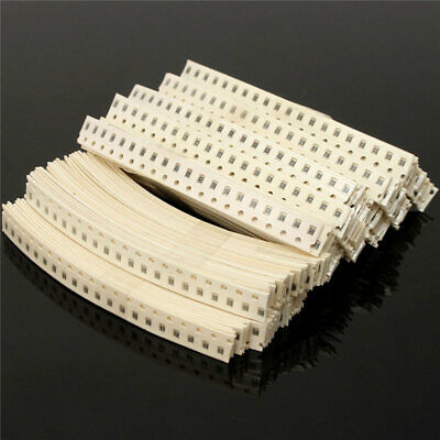 2000pcs 0805 Smd Resistor 80 Values 10r-910k Assorted Resistors Assortment Kit