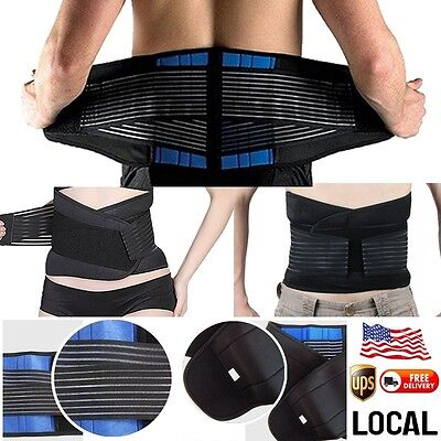 Magnetic Stay Waist Belt Brace For Pain Relief Lower Back Support Therapy Us  Ud