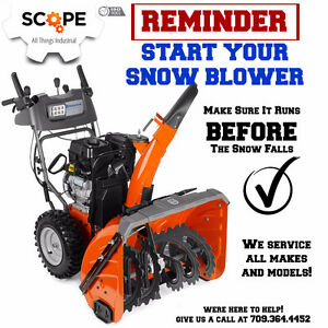 Snowblower Tune Up's
