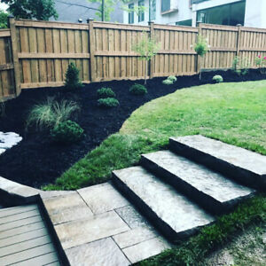 GALWAY GREEN'S LANDSCAPING FENCE, DECK, PERGOLA BUILD, K/W AREA