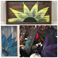 Home Paint Night Events or Corporate Team Building