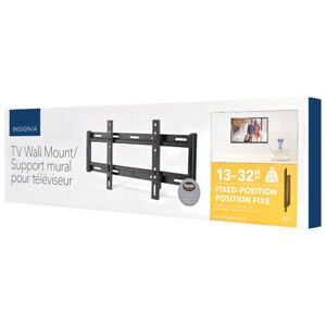 """BRAND NEW Insignia 13"""" - 32"""" Fixed TV Wall MountPLEASE READ"""