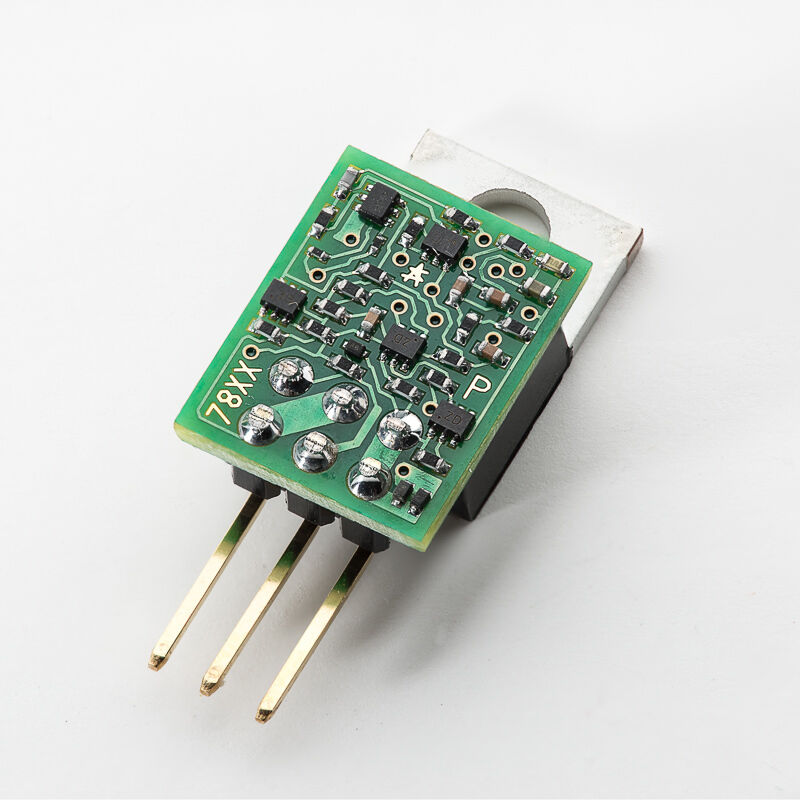 Ultra Low Noise Positive Discrete Voltage Regulator