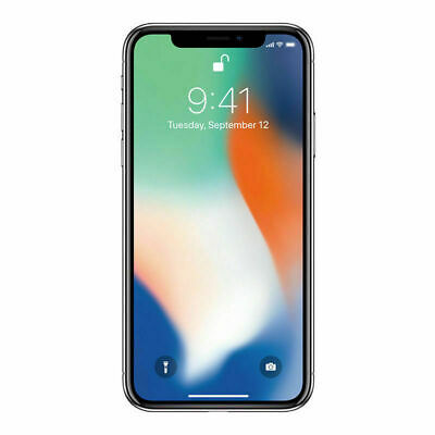 Apple iPhone X - 64GB - Space Gray A1865 GSM & CDMA UNLOCKED ~MRF~ VERY GOOD!