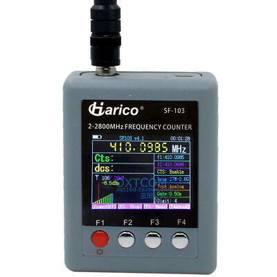 Sf103 Sf-103 Frequency Counter Ctccssdcs Dmr Digital Signal Testable