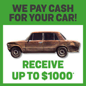 WE BUY CARS IN ANY CONDITION! 819-752-2712