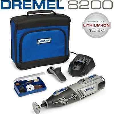 New Dremel 8200-1/35 Cordless10.8v Lithium Ion Rotary Multi Tool (1406)