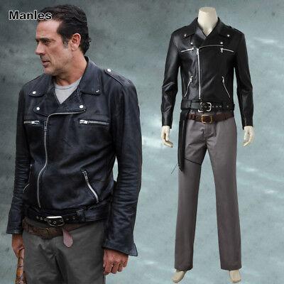 The Walking Dead Season 8 Rick Grimes Cosplay Costume Halloween Fancy Dress - Rick Halloween Costume Walking Dead