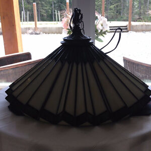 Gorgeous Stained Glass Light Fixture