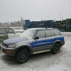 1997 Toyota RAV4 SUV, Crossover *needs motor replaced or rebuilt