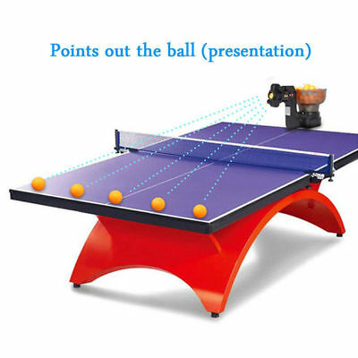HP-07 Ping Pong/Table Tennis Robot Automatic Ball Machine Reliable& Best