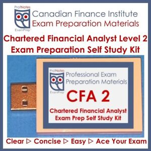 Chartered Financial Analyst CFA L2 2018 [Kaplan Schweser]