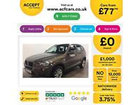 BMW X3 FROM £77 PER WEEK!