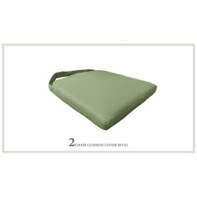 TK Classics 2 Cushions for Dining Chairs in Cilantro