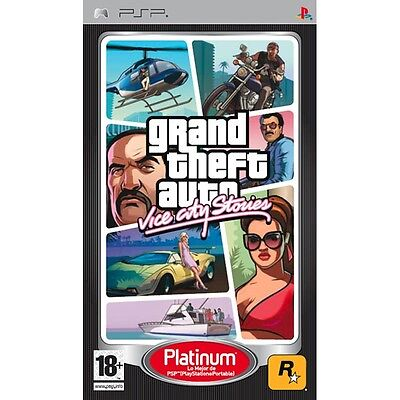 Grand Theft Auto  Vice City Stories  Sony Playstation Portable Psp  Region Free